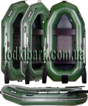 фото лодок  BARK с увеличенным диаметром бортов. Четыре лодки в проыиль и фас