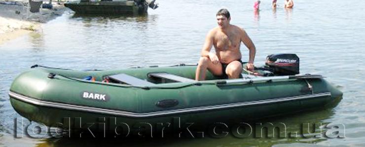 фото лодки БАРК BT-450S