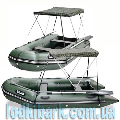 тент на надувные лодки bark