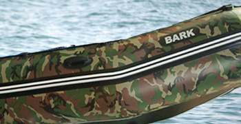 лодка BARK BT-420S в камуфляжной расцветка