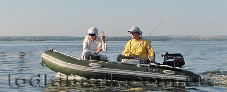 фото лодки барк BN_330S