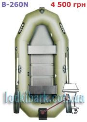 фото лодки BARK B-260N