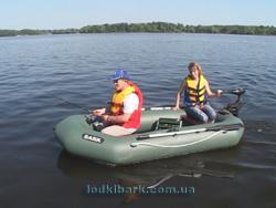 лодка пвх с навесным транцем под мотор