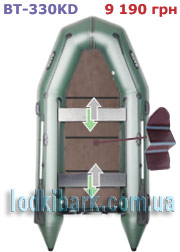 фото лодки BARK BT-330KD
