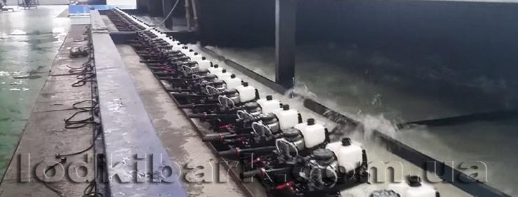 Моторы Парсун запуск на испытательном стенде завода